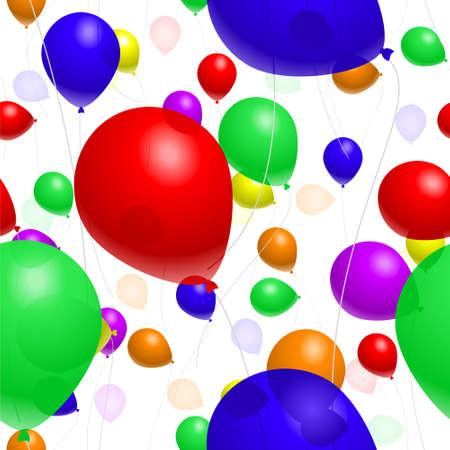 Balloon background Stock Vector - 4734268