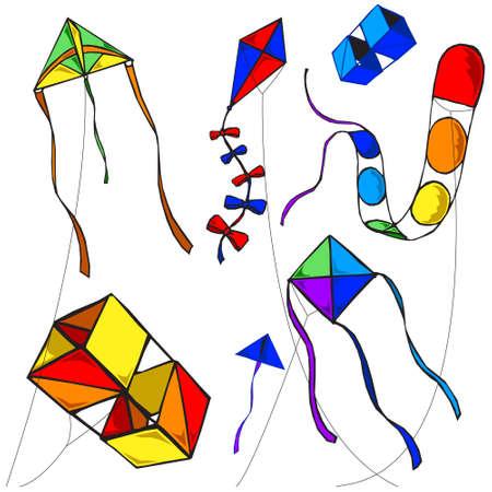 Kites Vector