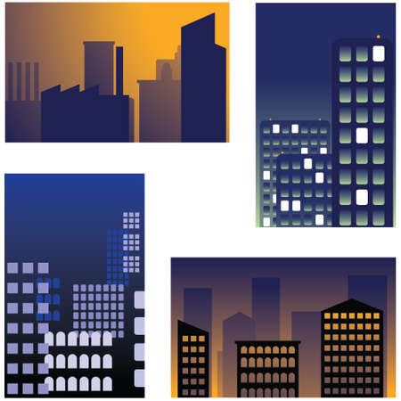 businesses: City backgrounds