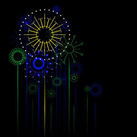 Retro fireworks