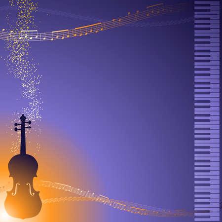 fiddles: Classical music border