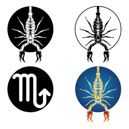 Escorpio signo del zodiaco Foto de archivo - 4944739
