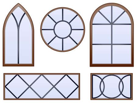 beveled: Decorative windows