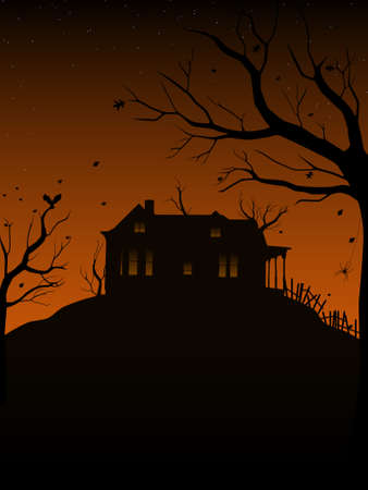 spooky house: Haunted House