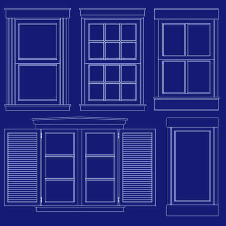 pane: Blueprint window illustrations