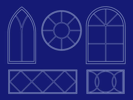 Blueprint window illustrations