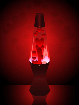 lava lamp: Love lava lamp