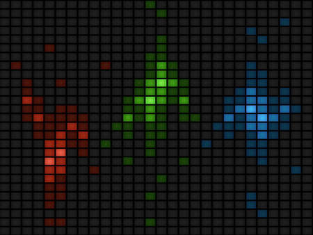 RGB abstract background