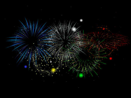 competitions: sports competitions colored fireworks
