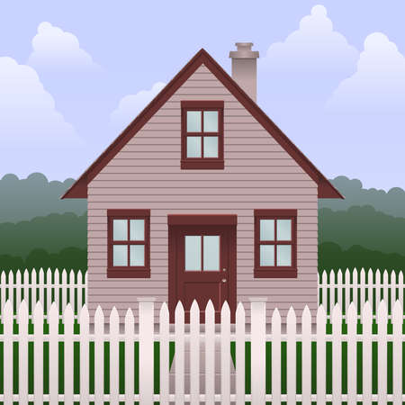 picket fence: Basic small house