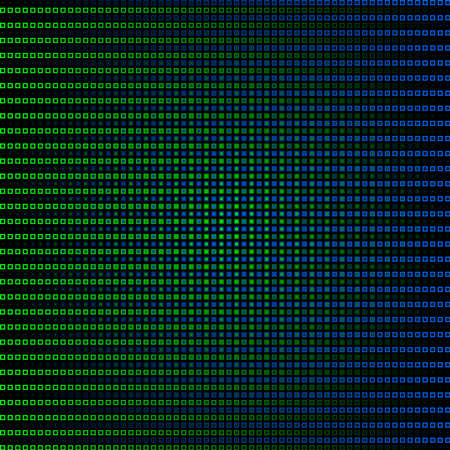 gradiant: Blue and green abstract background Illustration
