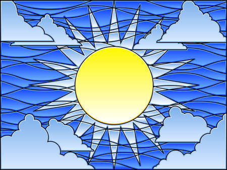 vetrate artistiche: Giorno di vetrate