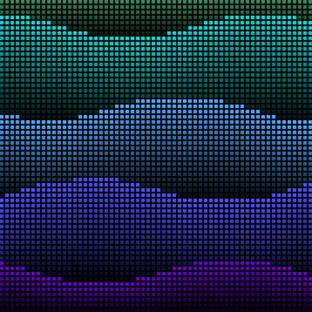 led: Abstract led waves Illustration