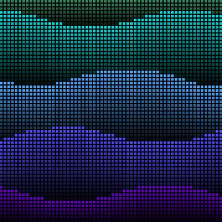 Abstract led waves Фото со стока - 6743184