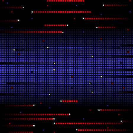 Patriotic mosaic Stock Vector - 6743185
