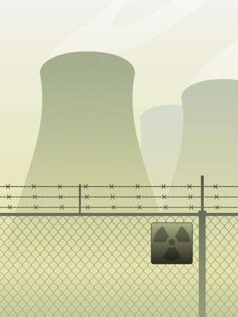 Cooling towers Illusztráció