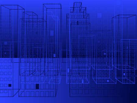 City background 向量圖像