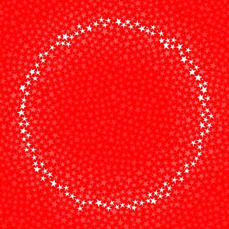 Circular star frame Stock Vector - 6981920
