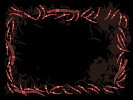 Earthworm frame
