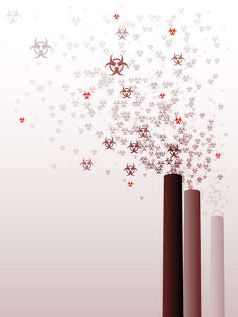 biohazard: Biohazard towers Illustration