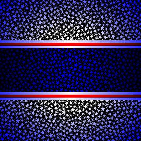 Horizontal star frame Stock Vector - 7009699
