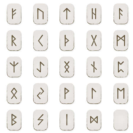 norse: Rune set Illustration