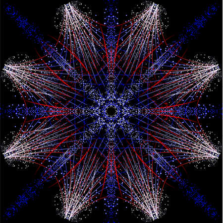Fireworks de Kalidescope  Foto de archivo - 7111216