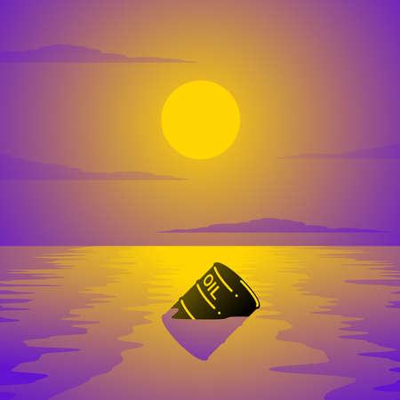 oil spill: sversamento di petrolio