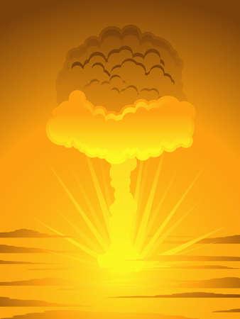 Mushroom cloud Stock Vector - 7111218