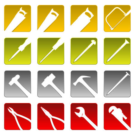 coping: Sixteen tool icons