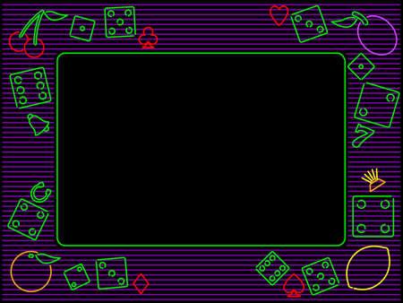 horizontal: horizontal gambling frame