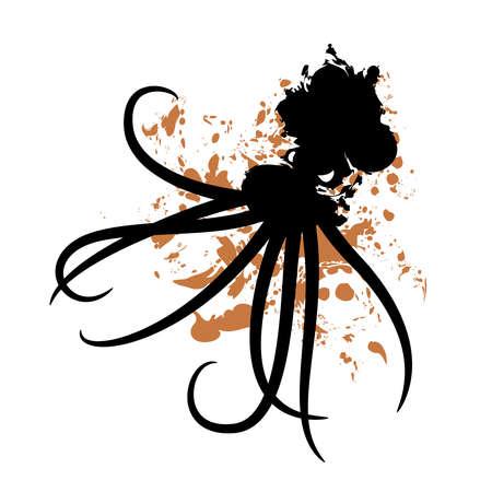 ooze: Oil spill octopus