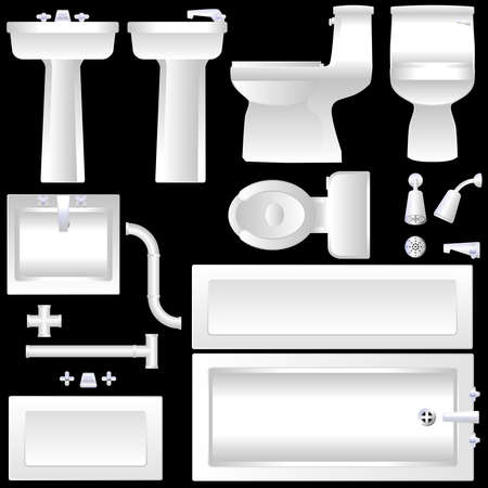 sink drain: Bathroom furnishings