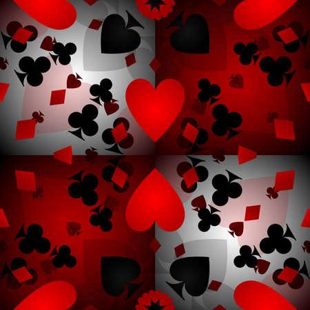 카드 패턴 배경