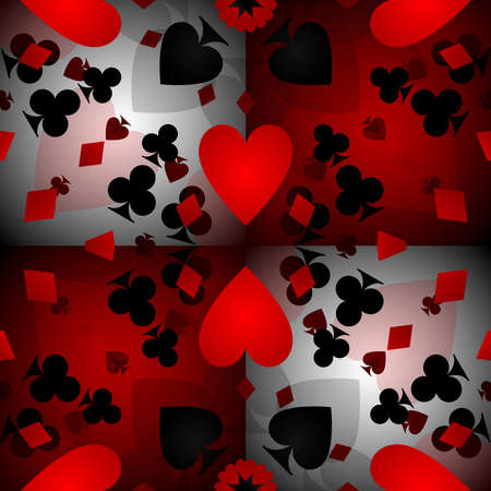 card: Card pattern background