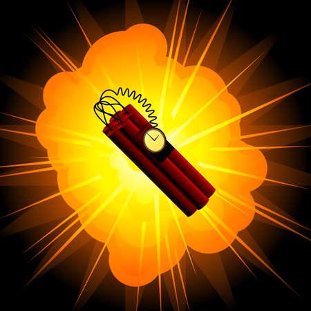 bomb: Time bomb