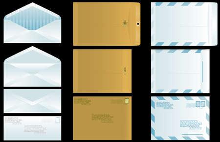 Envelope set Vettoriali