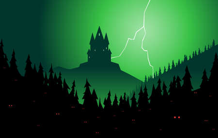 lurking: Spooky forest and castle