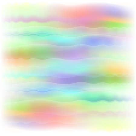 Pastel dreamscape Illustration