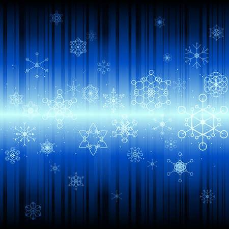 雪の抽象的な背景  イラスト・ベクター素材