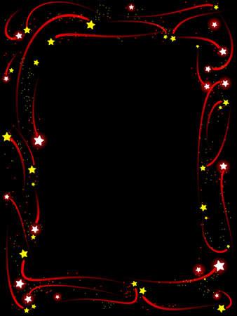 Shooting star frame