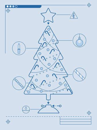 どのようにツリーをトリミングするには  イラスト・ベクター素材