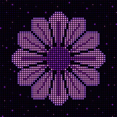 LED flower design