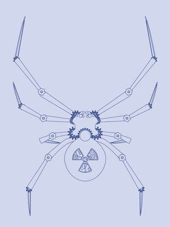 Mechanical spider blueprint