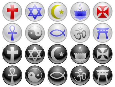 ankh cross: Religious icons