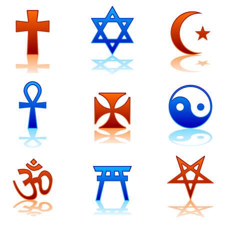 Icone religiose Archivio Fotografico - 8927218
