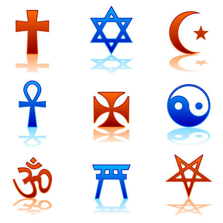torii: Iconos religiosos Vectores