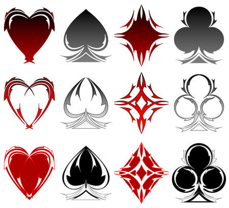 Card symbol tattoos