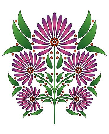 symmetric: Floral design