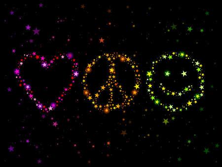 사랑 평화와 행복